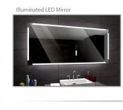 Koupelnové zrcadlo s LED podsvětlením 120x70 cm RYGA