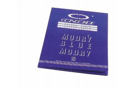 Uhlový papír A4 modrý