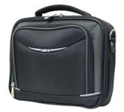 """Brašna na notebook 7""""- 9"""" , Business Mini, popruh na rameno, černo-šedá, nylon,"""