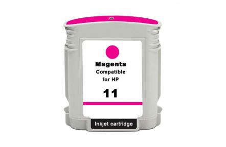 HP C4837 č.11 červená,100% NEW kompatibilní , 28ml, C 4837,Print IT C4837, č.11, purpurová
