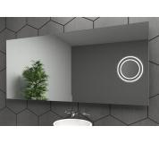 Zvětšovací kosmetické zrcátko osvětlené LED , k LED zrcadlu  LED