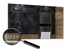 Digitální hodiny s dotykem k LED zrcadlu LED