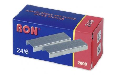 Drátky do sešívaček RON 24/6 2000ks