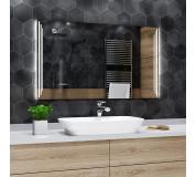 Koupelnové zrcadlo s LED osvětlením 60x40 cm PRAGA
