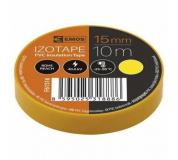PÁSKA elektro 15mm 10m žlutá , elektroizolační páska