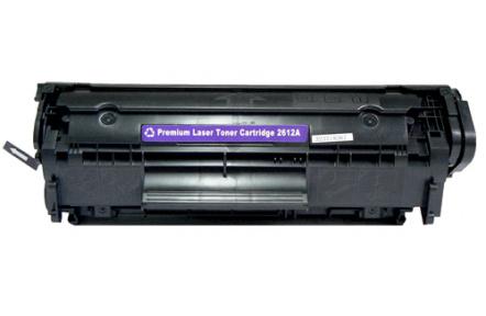 Kompatibilní toner HP Q2612A černá ,100% NEW , 2000stran  Q2612 , Q 2612 , HP 12A