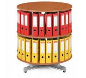 Archivační otočná skříň, přídavné patro pro archivační skříň -  třešeň