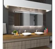 Koupelnové zrcadlo s LED podsvětlením 174x89cm GIZA
