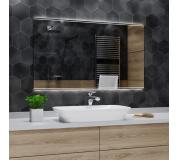 Koupelnové zrcadlo s LED podsvětlením 130x80 cm CHICAGO