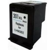 HP CH563 č.301XL černá 20ml , kompatibilní kazeta , CH563 XL , CH563 , 301 XL ,