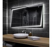 Koupelnové zrcadlo s LED podsvětlením 90x65 cm BERLIN