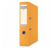 Pořadač pákový A4 DONAU 7,5cm polypropylen oranžový