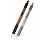 Kuličkové pero VENTURIO černo-zlaté/stříbrné