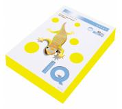 Barevný papír IQ COLOR NEON ŽLUTÁ, A4, 80g, 500 listů