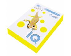 Barevný papír IQ COLOR NEON ŽLUTÁ, A4, 80g, 500 listů 500listů