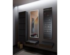 Interierové zrcadlo s LED podsvětlením 50x145 cm BOSTON