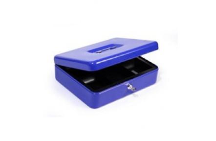 Přenosná pokladna HFM300A modrá, pokladnička