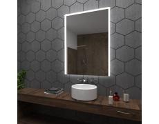Koupelnové zrcadlo s LED podsvětlením 60x100cm SYDNEY OKRAJ