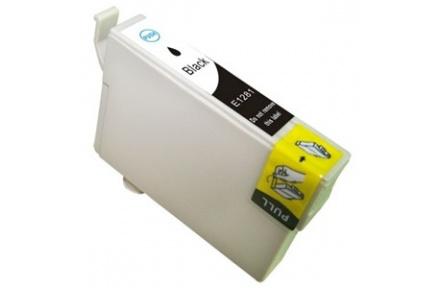 Epson T1281 kompatibilní inkoustová náplň pro Stylus SX125 SX130 SX420W SX425W S22 BX305F, černá,15ml,  C13T12814021