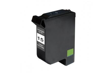 HP C6615  černá,reman. 50ml,kompatibilní inkoustová kazeta HP C 6615