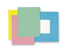 Mapa odkládací 3klopá classic modrá, papírové desky 1ks