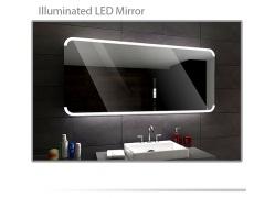 Koupelnové zrcadlo s LED podsvětlením 120x70 cm ASSEN