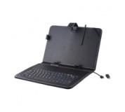 klávesnice k tabletu , FOREVER  Wired Keyboard pro tablet 9.7'' s Pouzdro Black