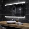 Koupelnové zrcadlo s LED podsvětlením 120x60 cm ASSEN
