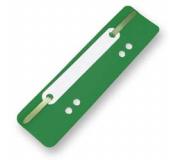 Úchytky do rychlovazače PVC zelené 25ks, rychlovazací pérko
