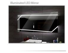 Koupelnové zrcadlo s LED podsvětlením 60x80 cm MIAMI