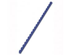 Hřebeny plastové vazací pr.8mm 100ks modrá pro plastovou vazbu , kroužková vazba
