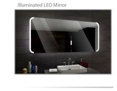 Koupelnové zrcadlo s LED podsvícením 120x70 cm SEATTLE
