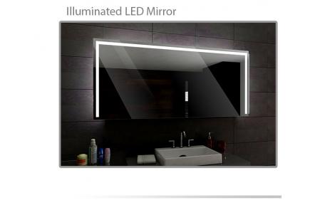 Koupelnové zrcadlo s LED podsvícením 90x90cm SYDNEY