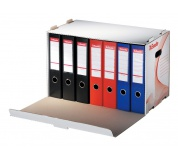 Archivační krabice na pořadače 525x338x306 stuhovatelná