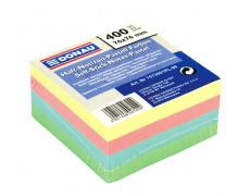 Samolepící bloček 76x76mm 76x76mm 400 listů pastelové barvy