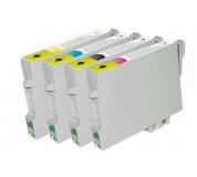 Epson T1295 set 4ks kompatibilních inkoustových náplní T1291 T1292 T1293 T1294 pro Stylus SX420W SX425W SX525WD BX305F BX320FW set 4 barev,1x14ml,3x12mlT1291,T1292,T1293,T1294