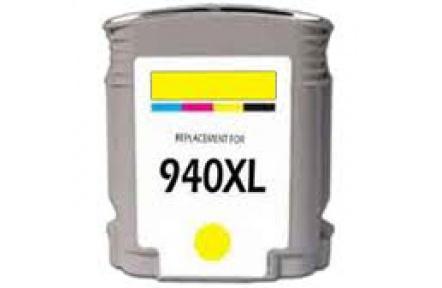 HP C4909A 940XL žlutá 31ml 100% NEW kompatibilní kazeta C4909 A, C 4909, 940 XL