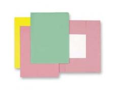 Mapa odkládací 3klopá classic růžová, papírové desky 1ks