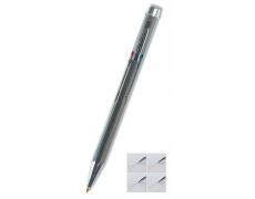 Kuličkové pero čtyřbarevné stříbrné