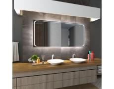 Koupelnové zrcadlo s LED podsvětlením 140x90 cm BARCELONA