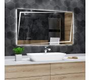 Koupelnové zrcadlo s LED podsvětlením 80x65 cm BERLIN