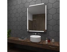 Koupelnové zrcadlo s LED podsvětlením 60x80 cm RYGA