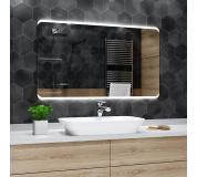 Koupelnové zrcadlo s LED podsvětlením 80x80 cm MODENA