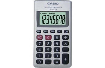 Kalkulačka CASIO HL 820 VA