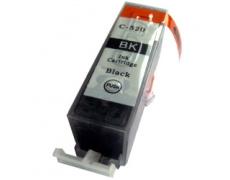 Canon PGI520 BK černá S CHIPEM, 19 ml, Canon PGI-520BK - černá kompatibilní inkoustová kazeta pgi 520, pgi-520