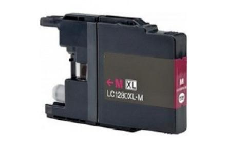 Brother LC1280 červená 19ml 100%NEW kompatibilní inkoustová kazeta LC 1280,LC-1280,PRINT IT Brother LC-1280 Magenta
