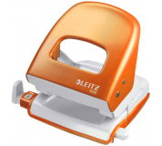Děrovač LEITZ 5008 metalicky oranžový , děrovačka