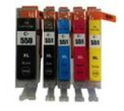 Sada Canon CLI551,PGI550, XL Black / Cyan / Magenta / Yellow + PGI550 XL Black MULTIPACK ,1x23ml+4x12ml