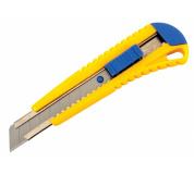 Odlamovací nůž s kovovou vodící lištou 18mm
