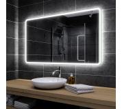 Koupelnové zrcadlo s LED podsvětlením 160x100 cm OSAKA
